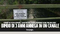 """Bassano del Grappa, bimbo affoga in un canale. Il papà: """"Una tragedia, qui siamo abbandonati"""""""