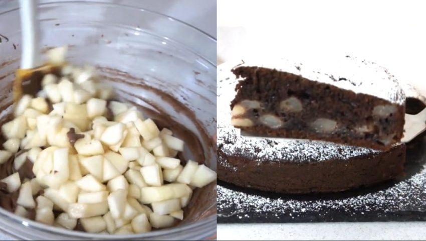 Torta Cioccolato Pere E Mascarpone Un Sapore Unico