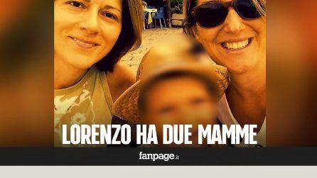 """Grazie a una sentenza Lorenzo è nato con due mamme: """"Ministro Fontana si adegui, siamo una famiglia"""""""