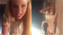 """""""Mio marito mi ha fatto bere di brutto"""": Michelle Hunziker fa l'alcool-test su Instagram"""