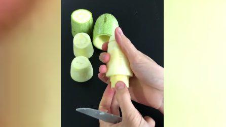 Un trucco per le zucchine: così non le avete mai tagliate