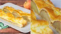 Torta de maçã com canela: um doce delicioso para um lanche surpreendente!