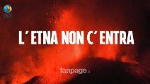 Terremoto Sicilia: perché le eruzioni dell'Etna non c'entrano niente