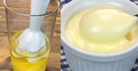 2 minute mayonnaise: how to make it creamy at home!