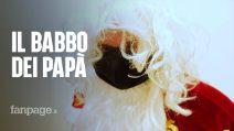 """Babbo Natale arriva a Napoli nella casa dei papà separati: """"Un po' di serenità anche per loro"""""""