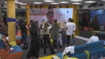 GF Vip, le lacrime di Stefania Orlando per la canzone di Simone Gianlorenzi