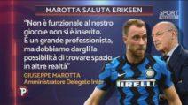 """Calciomercato: """"Eriksen non è funzionale"""", addio Inter"""