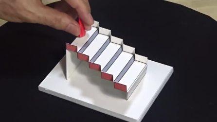Questa spettacolare scala 3D è l'illusione ottica vincitrice del concorso 2020