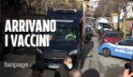 Roma, l'arrivo delle prime dosi di vaccino allo Spallanzani