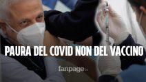"""V-Day a Napoli. Al Cotugno i primi medici volontari: """"Bisogna avere paura del Covid non del vaccino"""""""