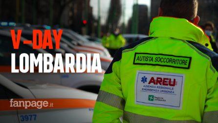 """V-Day, gli autisti che portano i vaccini a Codogno e Alzano: """"Speriamo sia l'inizio della rinascita"""""""