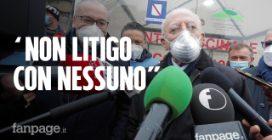 """V-day a Napoli, De Luca su litigi con de Magistris: """"Riguardano psichiatria democratica"""""""