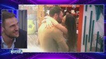 Grande Fratello VIP - Il bacio tra Dayane Mello e Andrea Zenga