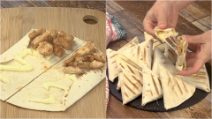 Piadina triangles: easy and tasty, the perfect snack for all the family!