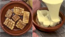 Potato fondue: creamy and delicious for you and your friends!