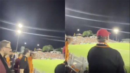 I tifosi in Australia sugli spalti senza mascherina per l'inizio del campionato