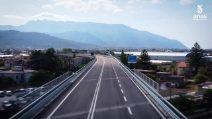 Il nuovo svincolo di Angri dell'autostrada A3 Napoli-Salerno