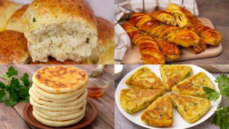 4 Delicious recipes to prepare tasty alternatives to the usual bread!