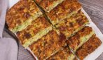 Zucchini squares: how to make a savory dish in a pan in a few minutes!