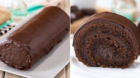 Rotolo al cioccolato: il dolce perfetto per ogni occasione!