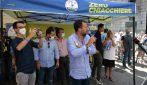 Salvini scambia Salerno per Palermo al comizio