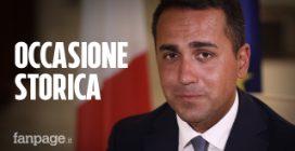 """Luigi Di Maio a Fanpage.it: """"Ora un coordinamento nazionale per l'alleanza con il PD"""""""