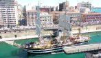L'Amerigo Vespucci ha abbracciato l'Italia da Nord a Sud nei giorni difficili