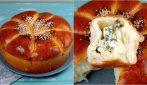 Brioche soffice ripiena di formaggio: ideale per una cena saporita e facile da preparare!