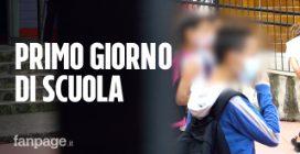 """Inizio scuola a Milano: """"Niente compagni di banco, ma meglio della didattica a distanza"""""""