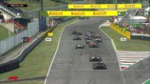 Formula1: Mugello, secondo botto e altra bandiera rossa