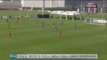 La Juventus si prepara al campionato: Ronaldo in attacco con Kulusevski