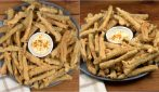 Deep fried string beans: how to make them perfect!