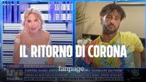 """Fabrizio Corona e la gaffe sull'età con Barbara d'Urso: """"Una donna di 65 anni così bella"""""""