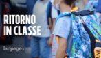 """Roma, il rientro a scuola dei più piccoli: """"Difficile spiegargli le regole anti-Covid"""""""