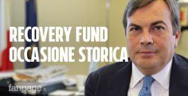 """Ministro Amendola: """"Con il Recovery Fund renderemo l'Italia un Paese più giusto e più verde"""""""