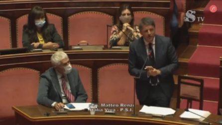 """Berlusconi ricoverato, il pensiero di Renzi in Senato: """"Rispetto per un uomo delle istituzioni"""""""