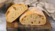 Pão com buracos: fofo e saboroso, com apenas 2g de fermento!