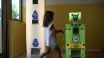 Covid, al via il primo test a scuola col robottino anti-focolai