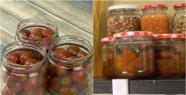 Come conservare i pomodorini sotto vetro!