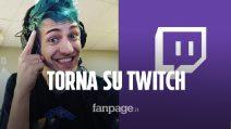 Il campione di Fortnite Ninja è tornato su Twitch
