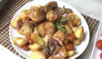 Pollo al forno con patate: il secondo piatto veloce e davvero saporito