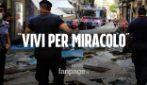 """Maltempo a Napoli, crolla tettoia alla Pignasecca: """"Siamo vivi per miracolo"""""""