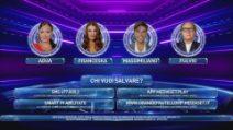GfVip, quarta puntata: Massimiliano, Adua Del Vesco, Abbate e Francesca Pepe sono in nomination