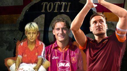 L'ultima bandiera del calcio italiano: Francesco Totti e la Roma, storia di un amore eterno