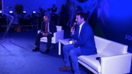 """Salvini: """"Sono febbricitante"""", poi smentisce: """"Mai avuta febbre"""""""