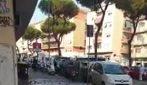 Roma, in via Gregorio VII si rompe una tubatura e la strada diventa un fiume