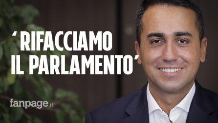 """Luigi Di Maio: """"Referendum è un'occasione di rivincita: dimostriamo che Italia sa fare le riforme"""""""