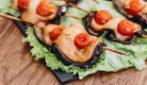 Espetinho de berinjela e frango: a deliciosa receita para toda a família!