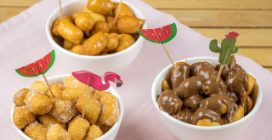 Bolinhos de dois ingredientes: rápidos, deliciosos e saborosos!