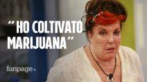 """Patrizia De Blanck: """"Ho coltivato marijuana senza saperlo, che figura di mer*a"""""""